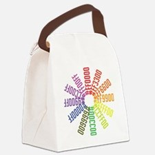 Hex color wheel Canvas Lunch Bag