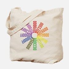 Hex color wheel Tote Bag