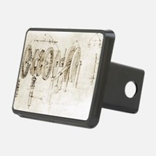 Da Vinci's notebook Hitch Cover