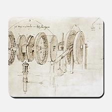 Da Vinci's notebook Mousepad