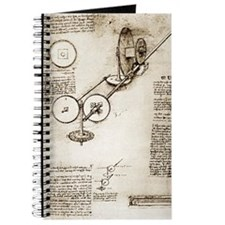 Da Vinci's notebook Journal