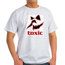 Toxic Face 1 Ash Grey T-Shirt