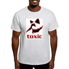 Toxic Face 1 Ash Grey T-Shirt