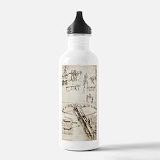 Da Vinci's crossbow Water Bottle