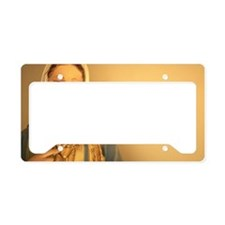 Statue of Virgin Mary License Plate Holder