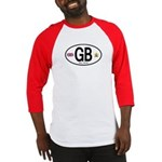 Great Britian (GB) Euro Oval Baseball Jersey