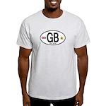 Great Britian (GB) Euro Oval Light T-Shirt