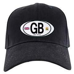 Great Britian (GB) Euro Oval Baseball Hat
