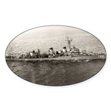 uss jarvis framed panel print Decal