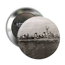 """uss jarvis framed panel print 2.25"""" Button"""