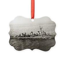 uss jarvis large framed print Ornament
