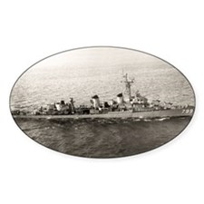 uss jarvis large framed print Decal