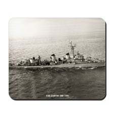 uss jarvis large framed print Mousepad
