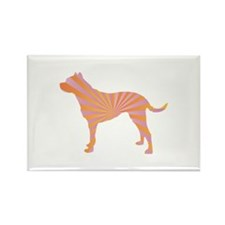 Dogo Rays Rectangle Magnet (100 pack)