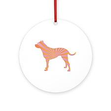 Dogo Rays Ornament (Round)