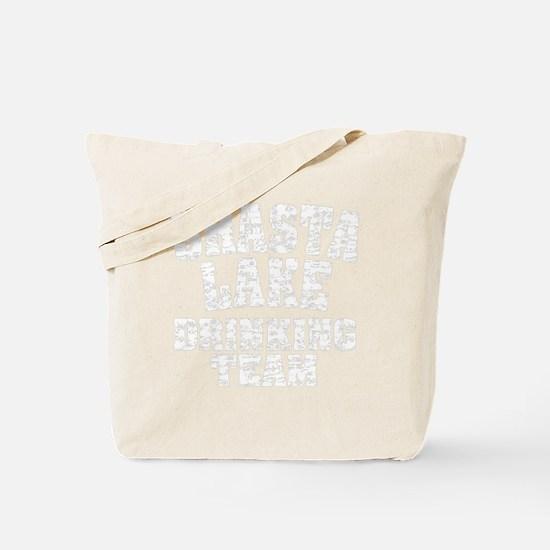 Shasta Lake Drinking Team Tote Bag