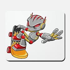 Robot Skater Mousepad