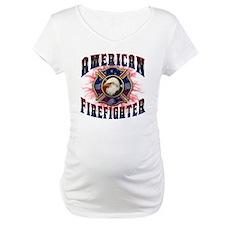 American Firefighter Lightning Shirt
