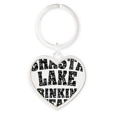 Shasta Lake Drinking Team Heart Keychain