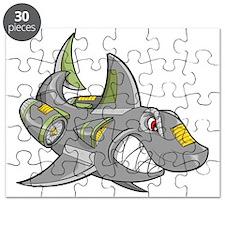 Robot Shark Puzzle