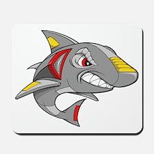 Robot Shark Mousepad