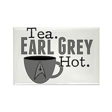 Tea Earl Grey Hot Rectangle Magnet