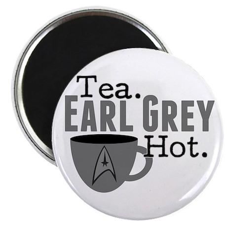Tea Earl Grey Hot Magnet