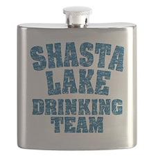 Shasta Lake Drinking Team Flask