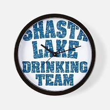 Shasta Lake Drinking Team Wall Clock