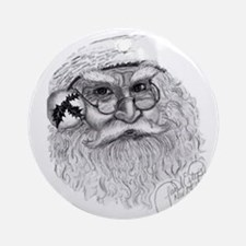 Santa - 04 Ornament (Round)