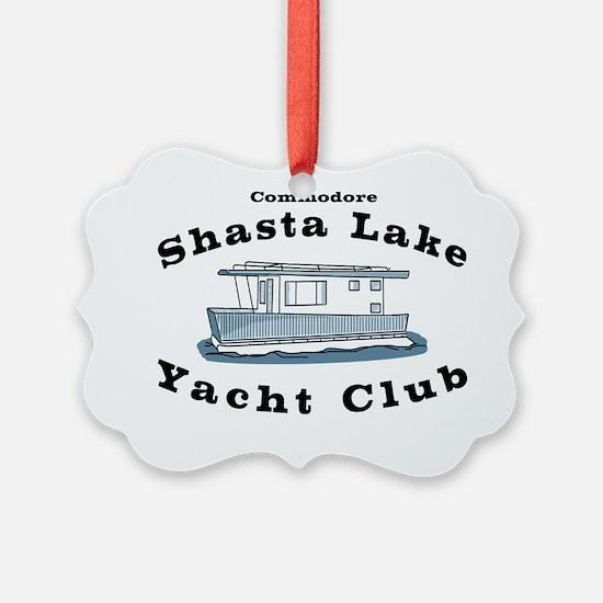 Shasta Lake Yacht Club Ornament