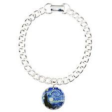 Van Gogh Charm Bracelet, One Charm