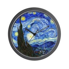 Van Gogh Wall Clock