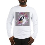 Feminine Harlequin Great Dane Long Sleeve T-Shirt