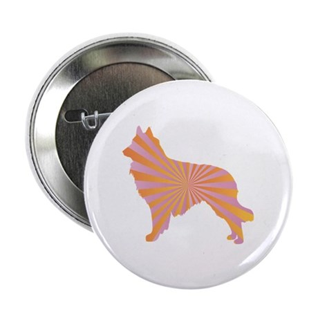 "Tervuren Rays 2.25"" Button (10 pack)"