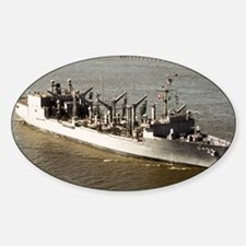 uss kansas city framed panel print Decal