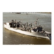 uss kansas city framed pa Postcards (Package of 8)