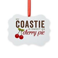 My Coastie is sweet as Cherry Pie Ornament