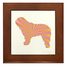 Bergamasco Rays Framed Tile
