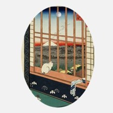 Japan-1A Oval Ornament