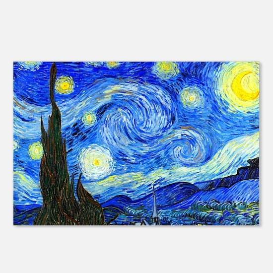 Laptop Van Gogh Postcards (Package of 8)