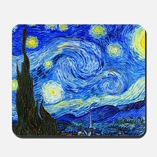 Laptop Van Gogh Mousepad