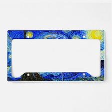 Laptop Van Gogh License Plate Holder