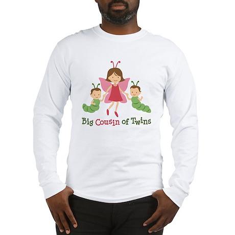 Big Cousin of Twins - Butterf Long Sleeve T-Shirt