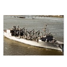 uss kansas city large fra Postcards (Package of 8)