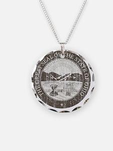 Vintage Ohio Seal Necklace