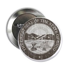 """Vintage Ohio Seal 2.25"""" Button"""