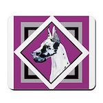 Harlequin Great Dane design Mousepad
