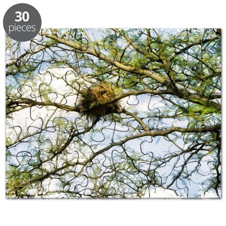 High Above Birds Nest Puzzle