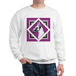 Harlequin Great Dane design Sweatshirt
